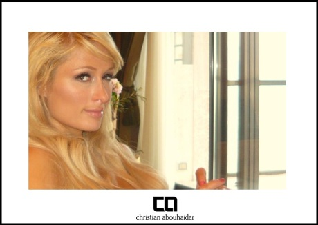 Celebrity makeup artist Christian Abouhaidar & Paris Hilton